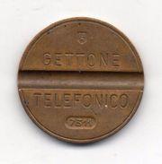 Italia - 1973 - Gettone Telefonico SIP -  E.S.M. Nr. 7311 - (FDC6261) - Professionali/Di Società
