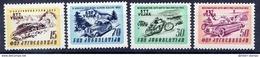 TRIESTE ZONE B 1953 Motor Races Set MNH / **,  Michel  98-101 - 7. Trieste