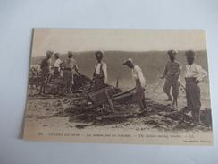 COPIE Guerre 14-18 Les Indiens Font Des Tranchées Probable Copie - War 1914-18