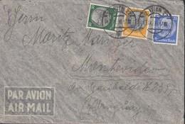 DR 522, 525, 528 MiF Auf Luftpostbrief Mit Stempel: Deutsche Luftpost Europa-Südamerika, Wien 13.IX.1938 - Luftpost