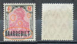 Saargebiet 1920** Mi.Nr.49 Aufdruck Plattenfehler Abart! Postfrisch Höher KW,-   (R207) - Nuovi
