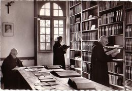 PLOUHARNEL: Abbaye Sainte-Anne De Kergonan - Salle De Lecture - Francia