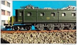 N Spur - HAG 800 - SBB Ae 4/7 10956 - SCALA N MODELLO IN METALLO - Locomotives