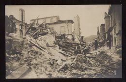 MESSINA - TERREMOTO DEL 1908   (10) - Catastrofi