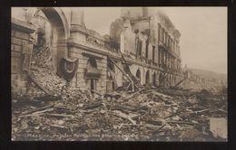 MESSINA - TERREMOTO DEL 1908  PALAZZO DELLA NAVIGAZIONE GENERALE ITALIANA (11) - Catastrophes