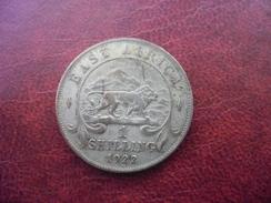 1 Shilling Argent 1922 EAST AFRICA - Georges V - Colonie Britannique - Lion @ Voir Les 2 Photos - British Colony