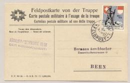 Schweiz - Feldpostkarte Von Der Truppe - JNF Regiment 11 / Fusilier-kompagnie IV/51 - Feldpost No 50 - Documenten