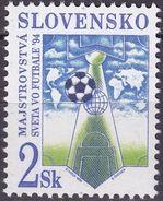 Soccer Football Slovakia #193 World Cup USA 1994 MNH ** - 1994 – USA