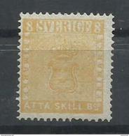 SUECIA YVERT 4R   (*)  (SIN GOMA)  (CERTIFICADO CMF) - Suède