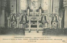 PIE 17-FL-8234 :  VERSAILLES LE CHESNAYE. EGLISE ST ANTOINE DE PADOUE. BAPTEME DES CLOCHES  20 OCTOBRE 1910 - Le Chesnay