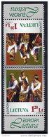 LITHUANIA 1998 Europa: National Festivals Tete-beche Pair MNH / **. . Michel 664 KD - Lithuania