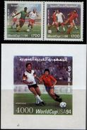 Soccer Football Syria #1910/1 + Bl 80 World Cup USA 1994 MNH ** - 1994 – USA