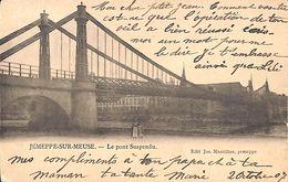 Jemeppe-sur-Meuse - Le Pont Suspendu (animée, Edit Jos. Massillon, 1907) - Seraing