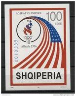 ALBANIA, SUMMER OLYMPIC GAMES IN ATLANTA 1996, NH BLOC - Albanie