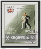 ALBANIA, WINTER OLYMPIC GAMES, ICE FIGURE SKATING 1976, U BLOC - Albanie