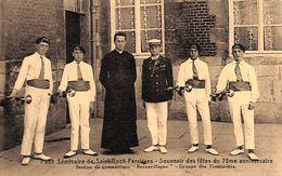 Ferrières - Petit Séminaire De Saint Roch - Section Gymnastique Groupe De Trompettes (animée) - Ferrieres