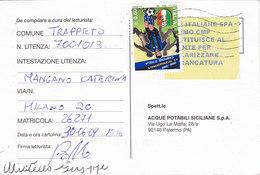 COMMEMORATIVO -  Card_ Cartolina Postale  / Cent. 0,60 Isolato (verificato) - 2001-10: Poststempel