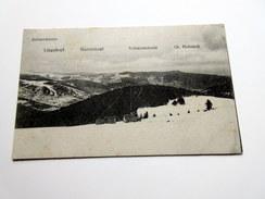 CPA - ANLASSWASEN - LINGEKOPF - BARRENKOPF - SCHRATZMÄNNLE - Gr. HOHNACK - CP Avec Tampon Au Verso - Autres Communes
