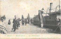 Anvers NA35: Sainte-Anne. Le Débarcadère 1908 - Antwerpen
