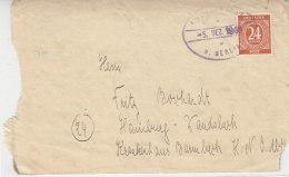 Briefvorderseite Aus Fredersdorf 5.12.46 / Zweite Seite POW Post Aus Fredersdorf 24.8.1947 - Zone Soviétique
