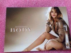 BODY DE BURBERRY - Cartes Parfumées