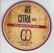 GLOUCESTER BREWERY (GLOUCESTER, ENGLAND) - CITRA PALE ALE - PUMP CLIP FRONT - Signs