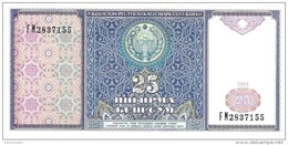 Uzbekistan - Pick 77 - 25 Sum 1994 - Unc - Ouzbékistan