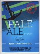 HIGHLAND BREWING CO (SWANNAY, SCOTLAND) - PALE ALE - PUMP CLIP FRONT - Signs