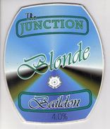THE JUNCTION BREWERY (BAILDON, ENGLAND) - BLONDE - PUMP CLIP FRONT - Signs