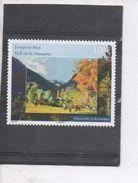 """ANDORRE - Art - Peinture - Oeuvre De Joaquim Mir  """"Vallée De La Massana"""" (détail) - Unused Stamps"""