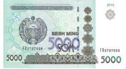 Uzbekistan - Pick 83 - 5000 Sum 2013 - Unc - Uzbekistan