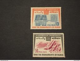 PAKISTAN - 1964 NUBIA  2 VALORI - NUOVI(++) - Pakistan