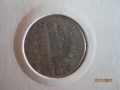 1 Lira 1863 M - 1861-1946 : Royaume