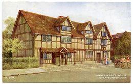 ARTIST : BRIAN GERALD / STRATFORD-ON-AVON - SHAKESPEARE'S HOUSE - 1900-1949