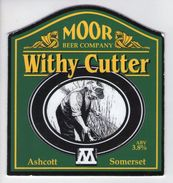 MOOR BEER COMPANY (ASHCOTT, ENGLAND) - WITHY CUTTER - PUMP CLIP FRONT - Signs