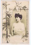 Paule De Lys Artiste 1900 , Reutlinger , Joli Cadre Signé L. Combe - Teatro