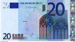 EURO CYPRUS  20 G R027 UNC DRAGHI - EURO