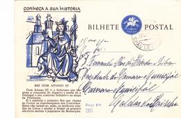 Portugal -Bilhete Postal-para Caldas Da Rainha - Otros