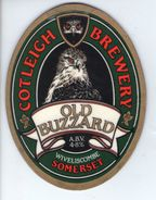 COTLEIGH BREWERY (WIVELISCOMBE, ENGLAND) - OLD BUZZARD - PUMP CLIP FRONT - Signs
