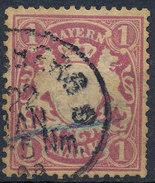 Stamp German States Bavaria 1881 Used Lot#1 - Bavaria