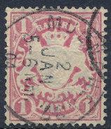 Stamp German States Bavaria 1m 1881-1906 Used Lot#3 - Bavaria