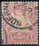 Stamp German States Bavaria 1m 1881-1906 Used Lot#8 - Bavaria
