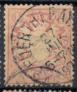 Stamp German States Bavaria 1m 1881-1906 Used Lot#9 - Bavaria