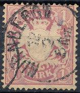 Stamp German States Bavaria 1m 1881-1906 Used Lot#16 - Bavaria