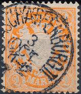 Stamp German States Bavaria 2m 1881-1906 Used Lot#31 - Bavaria