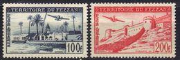 Fezzan Poste Aérienne N° 6, 7 * - Fezzan (1943-1951)