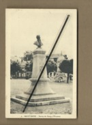 CPA - Saint Saëns - Statue Du Baron D'Haussez - Saint Saens
