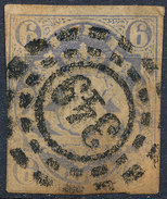 Stamp German States Bavaria 6kr 1867 Used Lot#48 - Bavaria