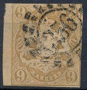 Stamp German States Bavaria 9kr 1867 Used Lot#50 - Bavaria