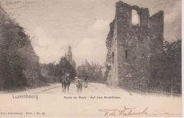 LUXEMBOURG - ROUTE DU BOCK - NELS SERIE 1 N° 40 - Luxemburg - Town